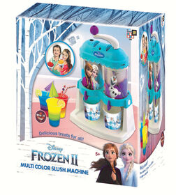 Frozen 2 Multi-Colour Slushie Maker Machine - R Exclusive