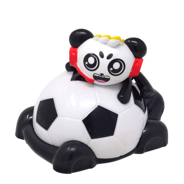 Véhicules de course de Ryan, 9 cm - Combo Panda's Soccer Mobile
