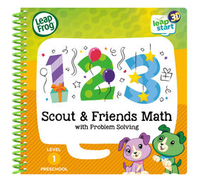 LeapFrog LeapStart 3D Scout & Friends Math with Problem Solving - English Edition
