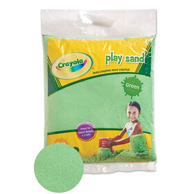 Crayola - 9 Kg Coloured PlaySand - Green