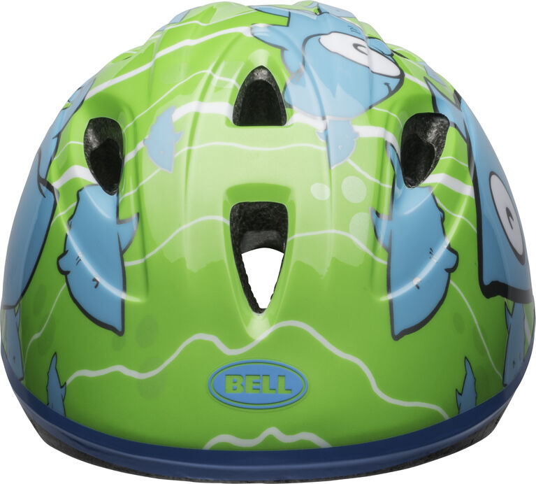 Bell - Infant Sprout Bike Helmet - Blue Green Fish Fits head sizes 47 - 52 cm