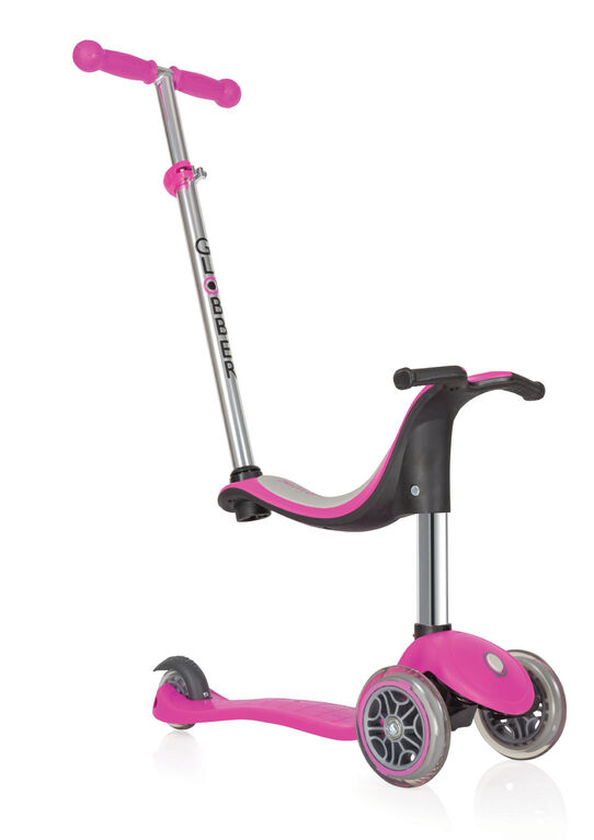 Globber GO UP 4in1 Scooter – Deep Pink