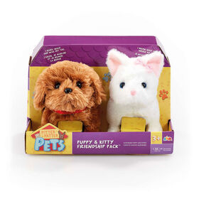 Pitter Patter Pets  - Ensemble chiot et chaton