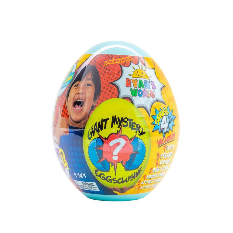 Ryan's World Giant Mystery Egg - Series 4 - English Edition