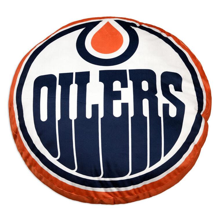 NHL Logo Pillow - Edmonton Oilers