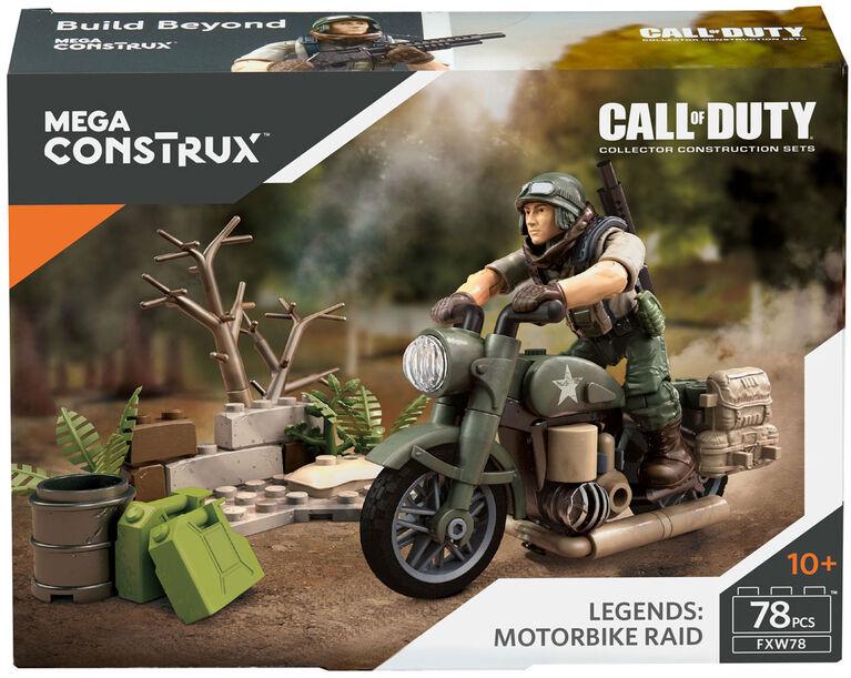 Mega Construx Call of Duty Legends Motorbike Raid