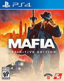 PlayStation 4 Mafia Definitive Ed