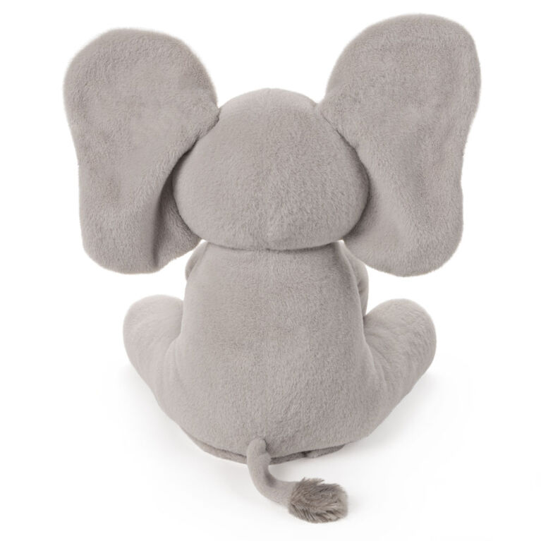 Baby GUND Animated Flappy the Elephant Stuffed Animal Plush, Gray, 12 inch