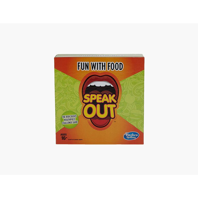 Hasbro Gaming - Speak Out Expansion Pack: Fun With Food