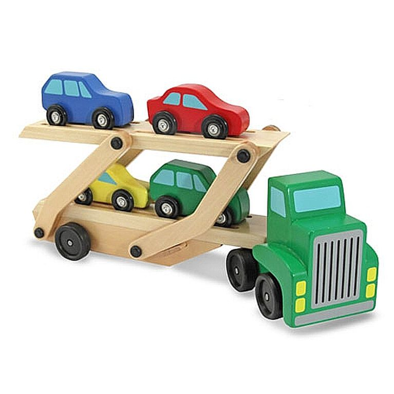 Melissa & Doug - Camion transporteur de voitures