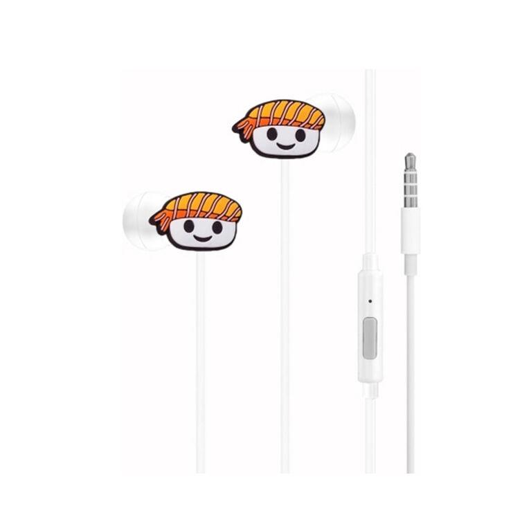 GabbaGoods Earbuds - Sushi - English Edition