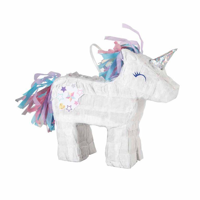 Mini Decoration De Faveur De Pinata De Licorne - Unicorn