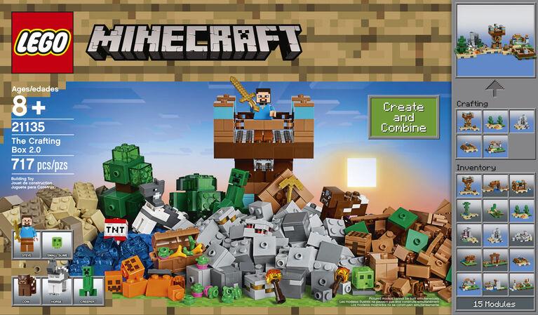 LEGO Minecraft The Crafting Box 20 21135