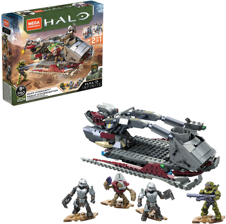 Mega Construx Halo Skiff Intercept