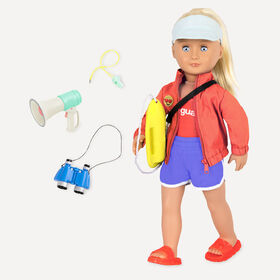 Our Generation, Seabrook, 18-inch Lifeguard Doll - English Edition
