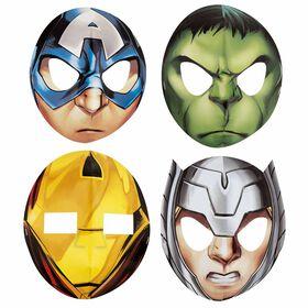 Avengers Assemble Party Masks, 8 pieces