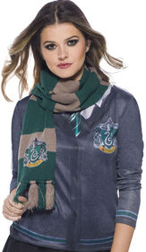 Harry Potter Slytherin ecarpe de luxe.