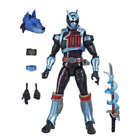 Power Rangers Lightning Collection - Figurine de collection Ranger Shadow de Power Rangers: Super Police Delta de 15 cm.