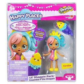 Happy Places<br>Shopkins P'tite Shoppie<br>Coralee