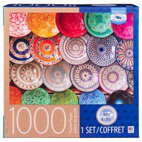 Artiste : Matej Kastelic - Puzzle de 1 000 pièces - Assiettes.