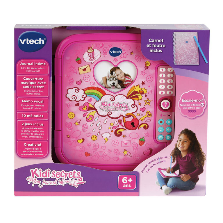 VTech Kidi Secrets Notebook - French Edition