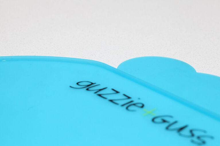 Set de table en silicone guzzie+Guss pour Perch - Gris.