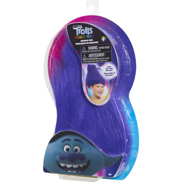 DreamWorks Trolls World Tour Troll-rific Branch Wig