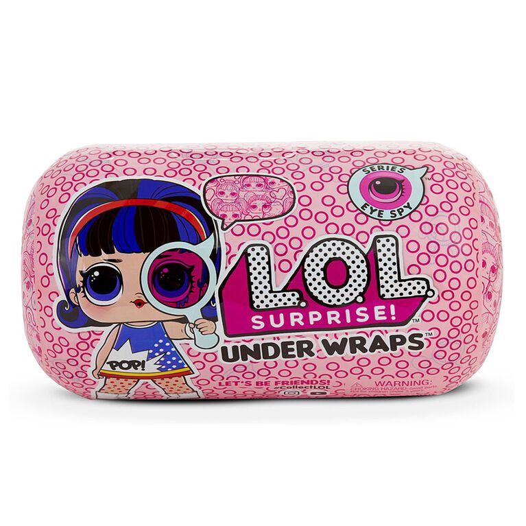 poupées L.O.L. Surprise Eye Spy Series UnderWraps.
