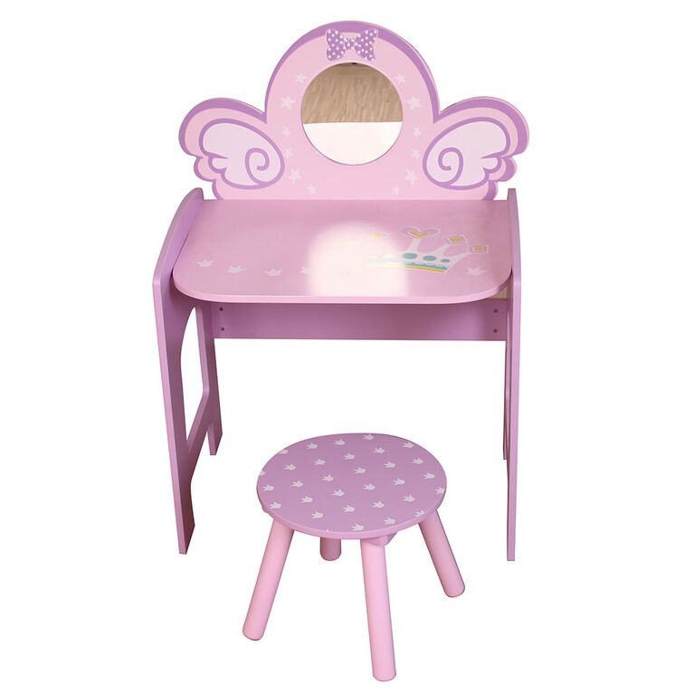 Unicorn Dressing Table With Stool