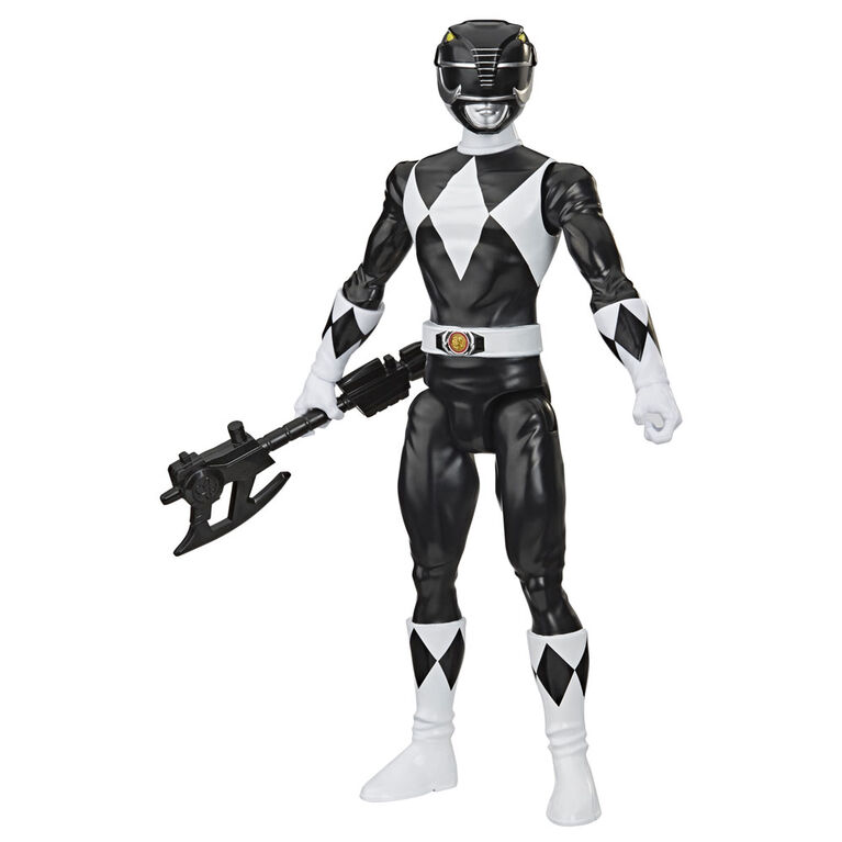 Power Rangers, figurine Mighty Morphin du Ranger noir