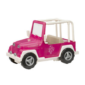 Our Generation, My Way And Highways 4 X 4, Vehicle for 18-inch Dolls