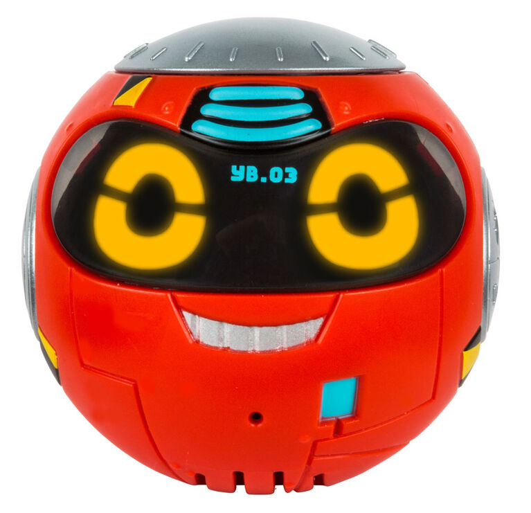 Real Rad Robots Yakbot - Red Yakbot - English Edition