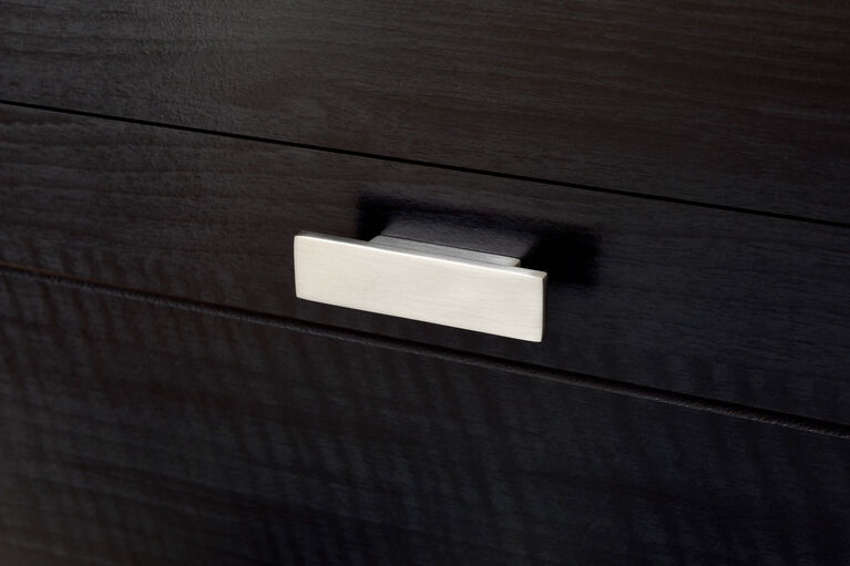 Reevo Bureau double 6 tiroirs- Onyx noir