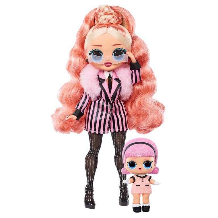 Poupée-mannequin Big Wig L.O.L. Surprise! O.M.G. Winter Chill et poupée Madame Queen avec 25 surprises