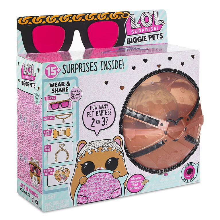 L.O.L. Surprise! Biggie Pet-M.C. Hammy