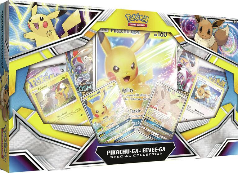 Collection spéciale Pikachu-GX et Évoli-GX du JCC Pokémon