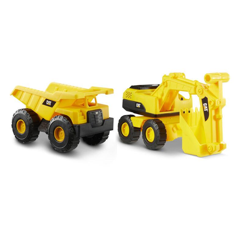 de 2 véhicules Tough Rigs Cat