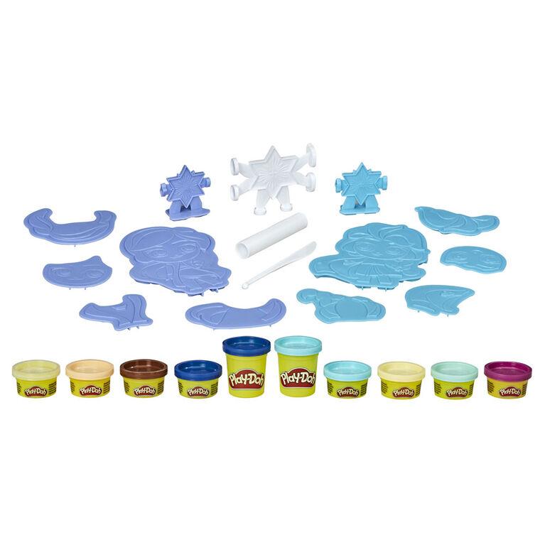 Play-Doh La Reine des neiges 2, Créations des neiges, jouet Anna et Elsa, Play-Doh atoxique