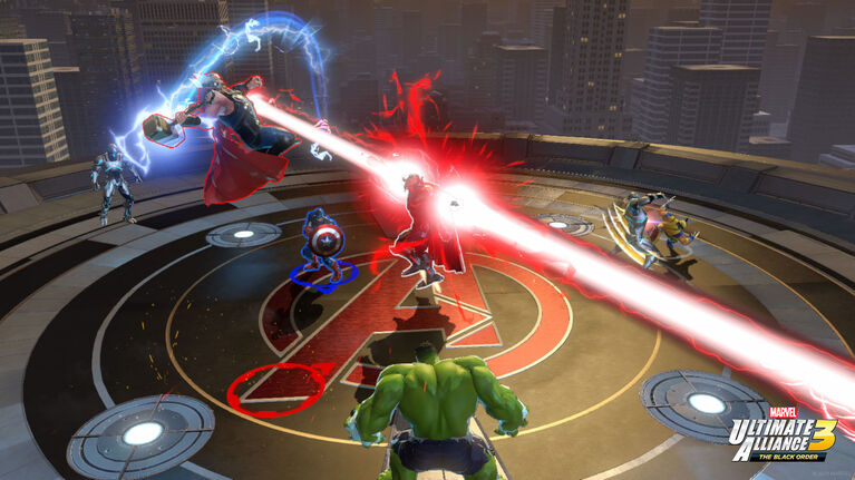Nintendo Switch - Marvel Ultimate Alliance 3: The Black Order  061862