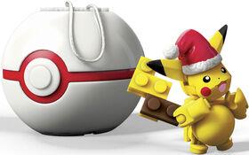 Mega Construx - Pokémon - Holiday Pikachu Poke Ball