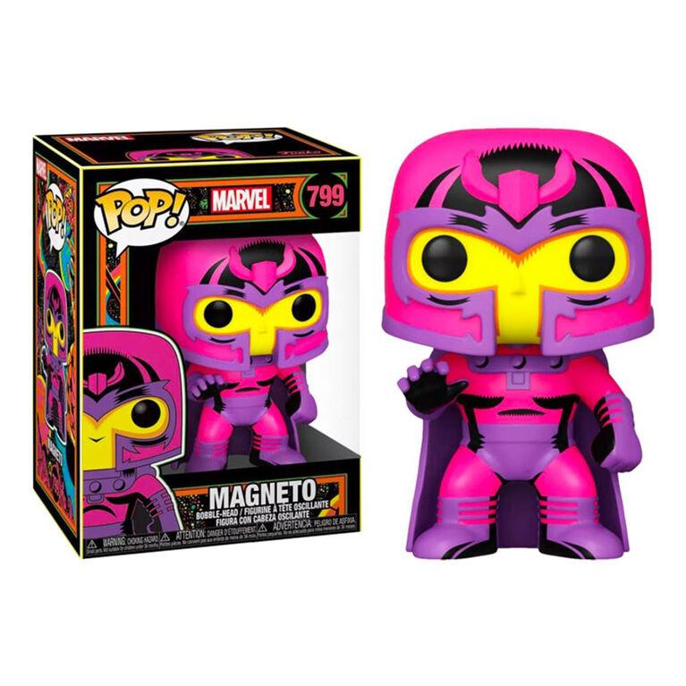 Funko POP! Marvel: X-Men Classic - Magneto (Blacklight) - R Exclusive