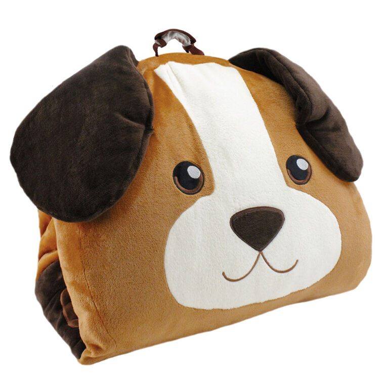 Soft Landing Luxe Loungers Dog Character Cushion - Édition anglaise