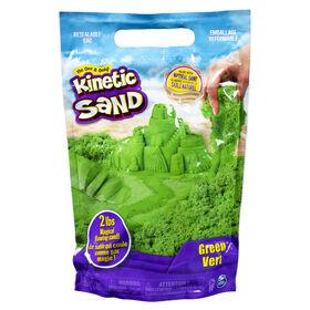 Kinetic Sand, 907 g (2 lb) de Kinetic Sand vert pour mélanger, modeler et créer