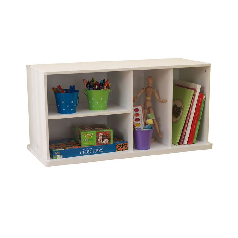 KidKraft - Storage Unit with Shelves - White