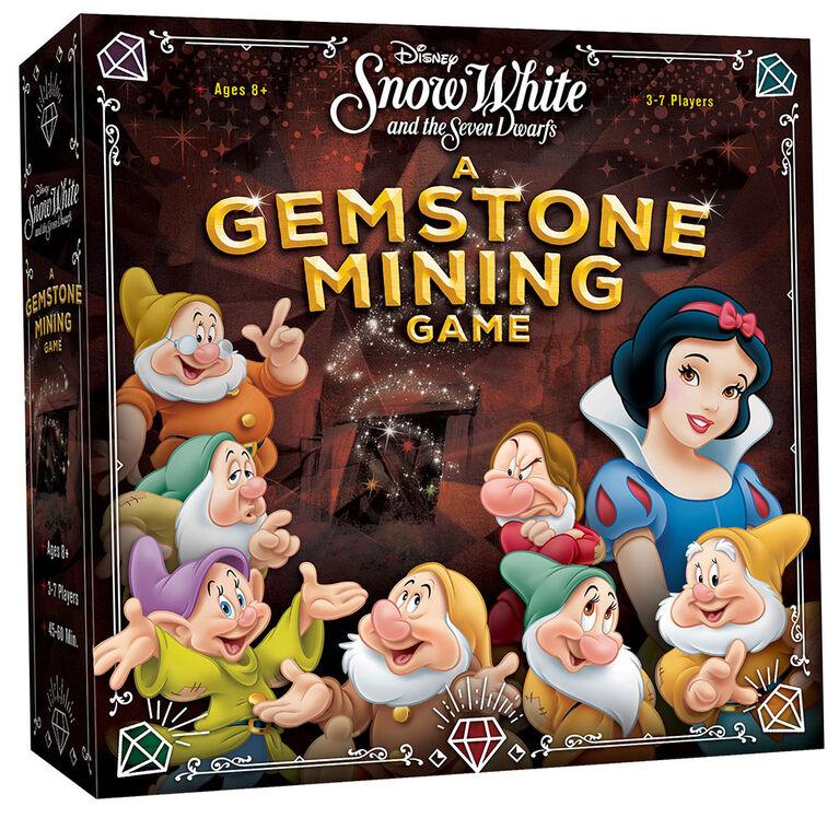 Disney Snow White and the Seven Dwarfs: A Gemstone Mining Game