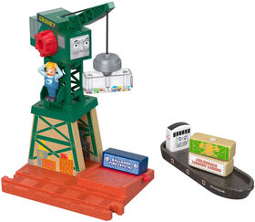 Fisher-Price Thomas & Friends Wood Cranky at the Docks