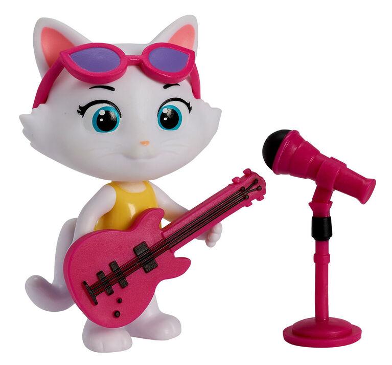 44 Cats 3'' Figurine avec Accessoire - Milady