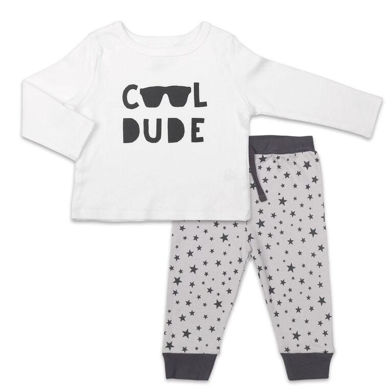 Ensemble Koala Baby Let's Play chemise et pantalon à manches longues, Cool Dude - Jusquà - 3 Mois