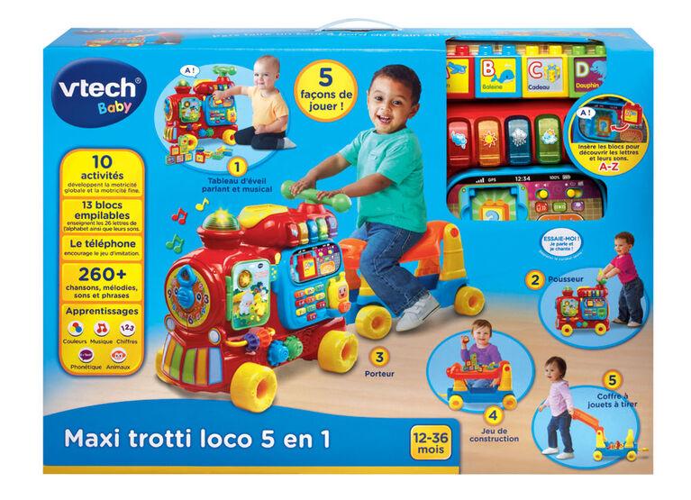 Maxi trotti loco 5 en 1 - Édition française.