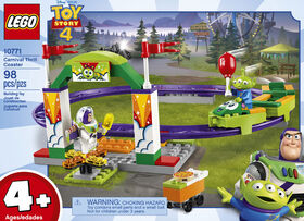 LEGO  Disney Toy Story 4 Carnival Thrill Coaster 10771